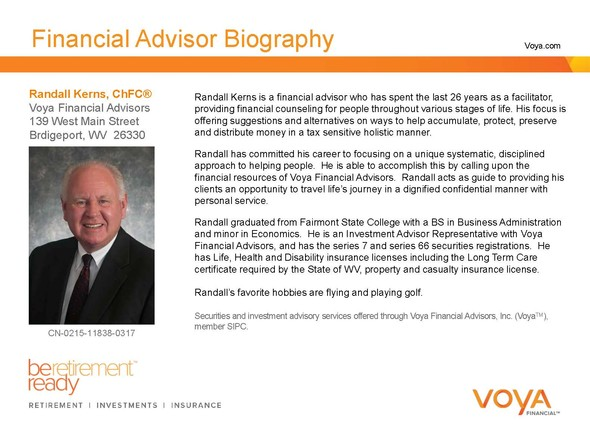 Our Firm : Randall E. Kerns